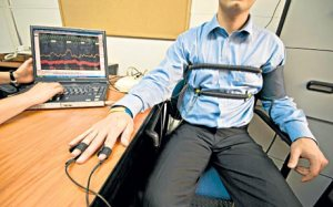 A polygraph may be in store for the interview