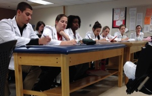 There's nothing that builds confidence quite like seeing a dozen lab coats take note of your every word