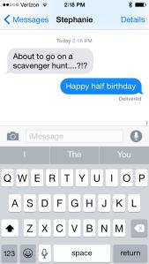 Stephanie text